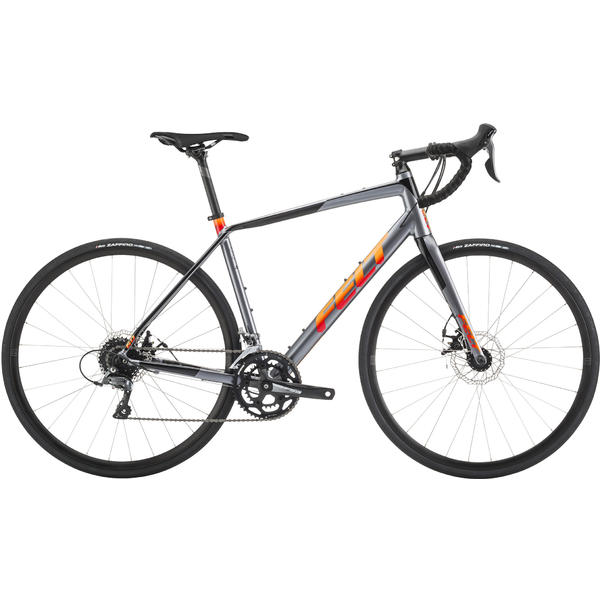 Felt Bicycles VR60 Color: Charcoal/Black/Orange Fade