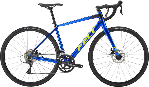 Felt Bicycles VR60 Color: Electric Blue/Chartreuse/Black