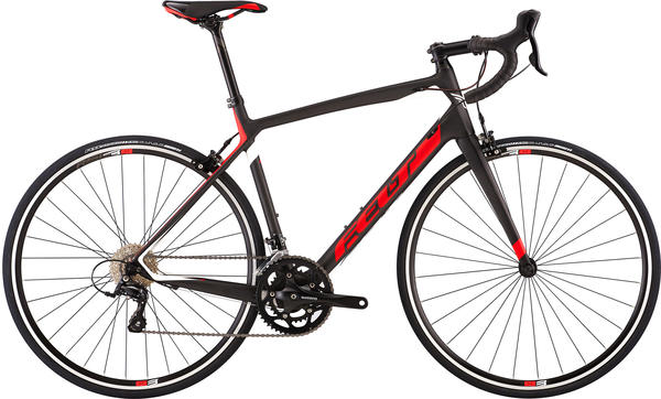 Felt Bicycles Z7 Color: Gloss Bright Race Red (Carbon/White)