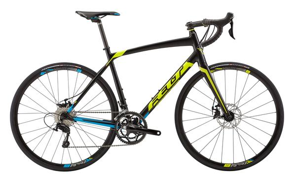 Felt Bicycles Z75 Color: Satin Black/Blacklight