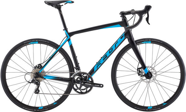 Felt Bicycles Z95 Color: Matte Black (Sky Blue)