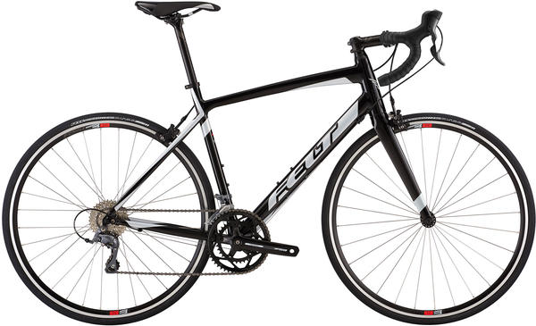 Felt Bicycles Z100 Color: Gloss Black (Silver/Flouro Red)