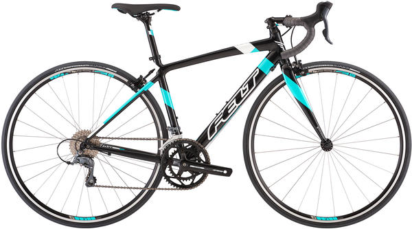 Felt Bicycles ZW100 - Women's Color: Gloss Obsidian Grey Pearl (Aqua/White)