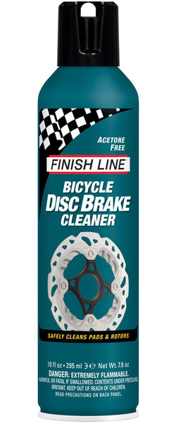 Finish Line Bicycle Disc Brake Cleaner Size: 10-ounce