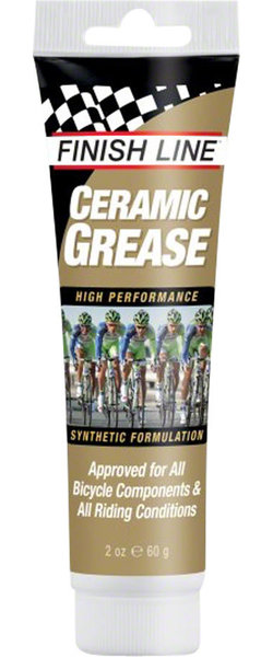 Finish Line Ceramic Grease Size: 2oz Tube