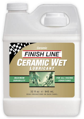 Finish Line Ceramic Wet Lubricant (32-ounce Bottle) Size: 32-ounce