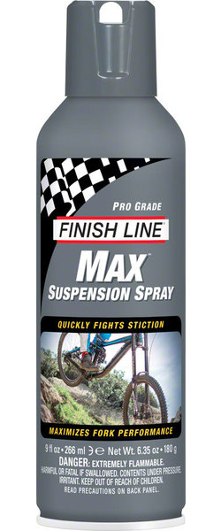 Finish Line Max Suspension Spray Size: 9oz Aerosol Spray