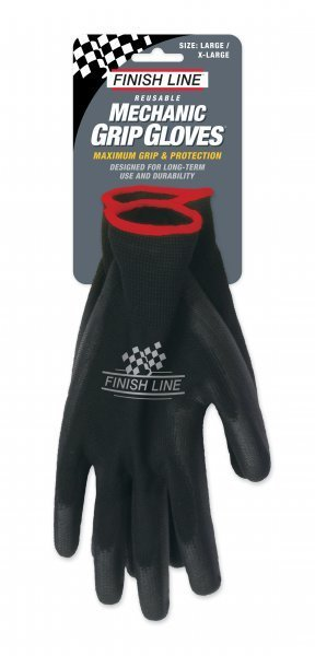 Finish Line Mechanic's Grip Gloves