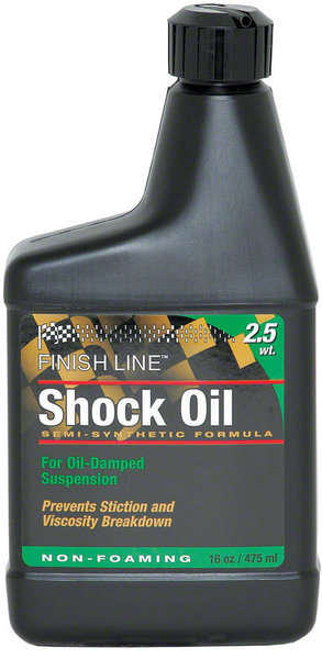 Finish Line Shock Oil Suspension Fluid Model: 2.5-weight