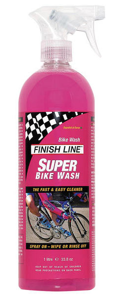 Finish Line Super Bike Wash (1-Liter Bottle w/Sprayer)