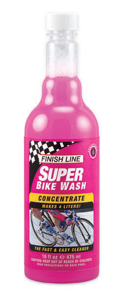 Finish Line Super Bike Wash Concentrate (16-Ounce Bottle)