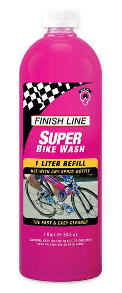 Finish Line Super Bike Wash Refill (1-Liter Bottle w/o Sprayer)