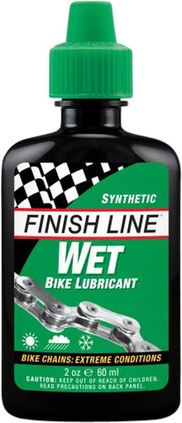 Finish Line Wet Lubricant Size: 2oz Squeeze Bottle