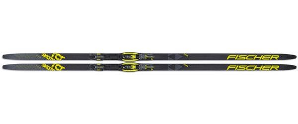 Fischer RCR Skate Stiff IFP Color: Black/Yellow