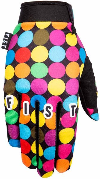 Fist Handwear Dot Glove Color: Colored Dots