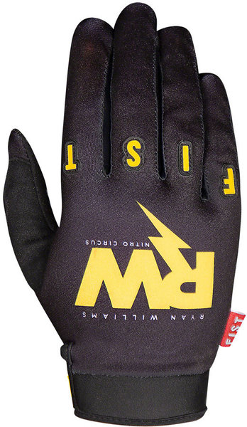 Fist Handwear Ryan Williams RW Glove Color: Black/Yellow