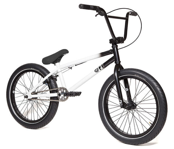 Fitbikeco Benny 1 Color: Matte Black/Gloss White Fade