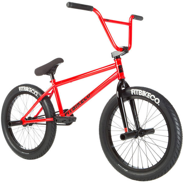 Fitbikeco Corriere FC Color: Bright Red