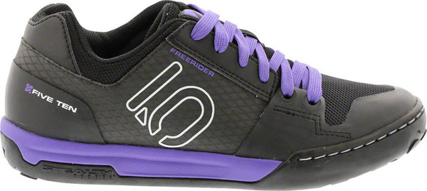 Five Ten Freerider Contact Flat Shoes Color: Black/Carbon/Purple