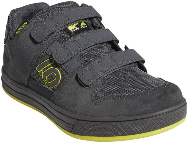 Five Ten Freerider VCS Kid's Mountain Bike Shoe Color: Gray Six/Shock Yellow/Black