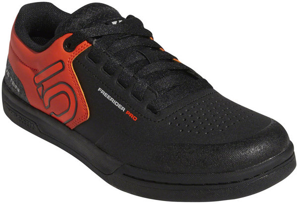 Five Ten Freerider Pro Men's Mountain Bike Shoe Color: Black/Active Orange/Gray Two