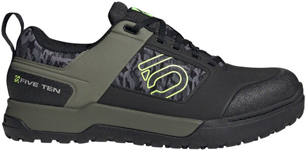 Five Ten Impact Pro Men's Mountain Bike Shoe Color: Black/Signal Green/Legacy Green