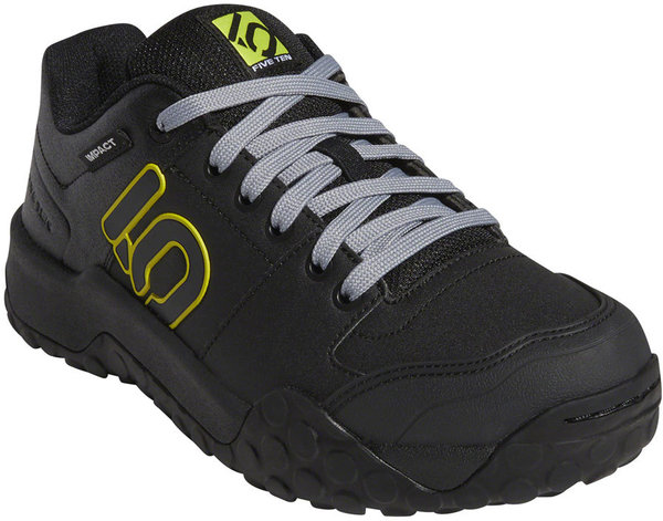 Five Ten Impact Sam Hill Flat Shoes Color: Black/Gray/Semi Solar Yellow