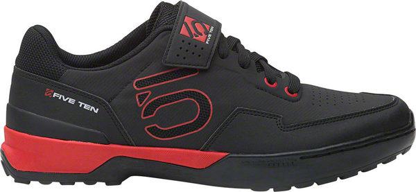 Five Ten Kestrel Lace Men's Mountain Bike Shoe Color: Black/Red