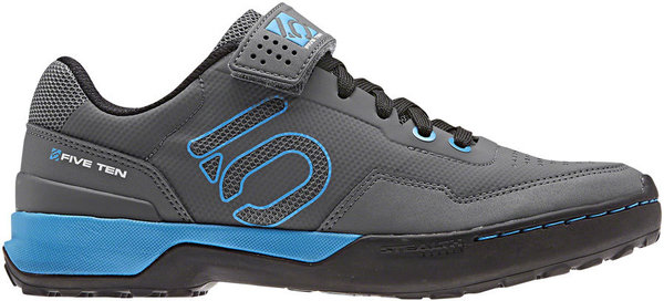 Five Ten Kestrel Lace Women's Mountain Bike Shoe Color: Gray Five/Shock Cyan/Black