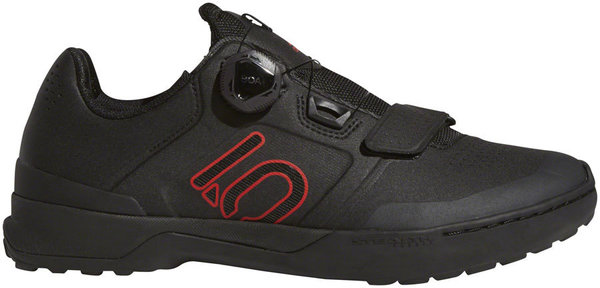 Five Ten Kestrel Pro Boa Men's Mountain Bike Shoe Color: Black/Red/Gray