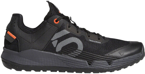 Five Ten Trailcross LT Men's Mountain Bike Shoe Color: Black/Gray Two/Solar Red