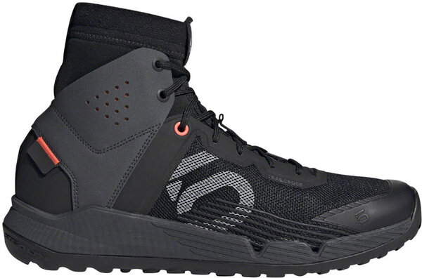 Five Ten Trailcross Mid Pro Men's Mountain Bike Shoe Color: Black/Gray Two/Solar Red