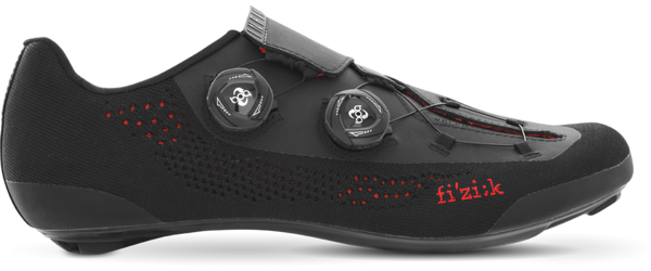 Fizik Infinito R1 Knit Color: Black/Red