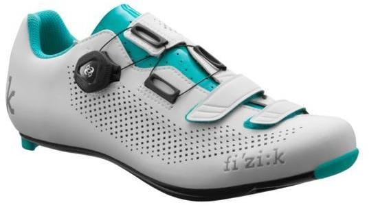 Fizik R4B Donna Boa Carbon Color: White/Emerald Green