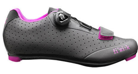 Fizik R5B Donna Color: Anthracite w/Fuchsia Trim
