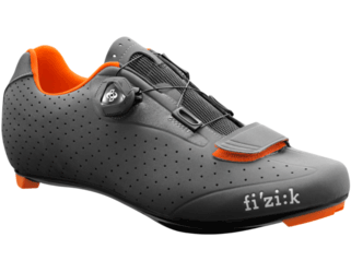 Fizik R5B Uomo Boa Color: Anthracite/Orange Fluo