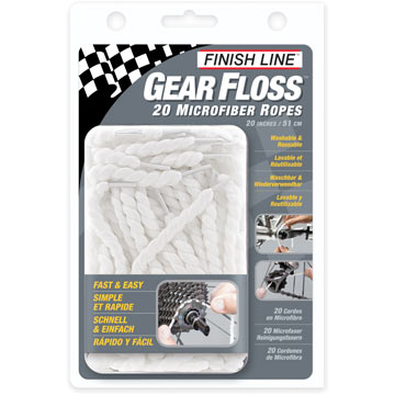 Finish Line Gear Floss (20 Microfiber Ropes)