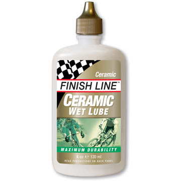 Finish Line Ceramic Wet Lubricant (4-Ounce Bottle)