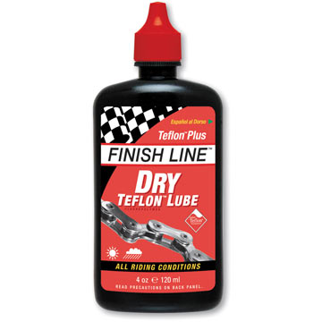 Finish Line Dry Lubricant With Teflon (4-Ounce Bottle)