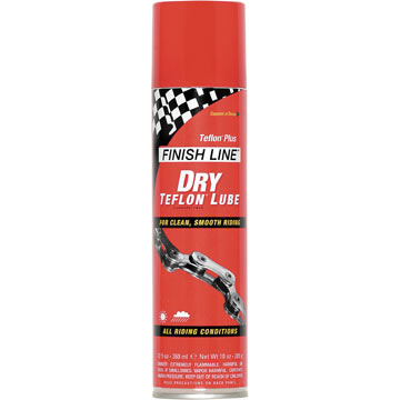Finish Line Dry Lubricant With Teflon (12-Ounce Spray)