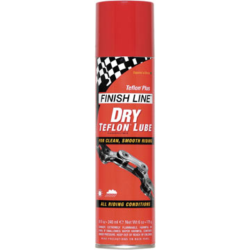 Finish Line Dry Lubricant With Teflon (8-Ounce Spray)
