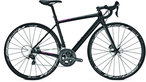 Focus Cayo Disc Donna Ultegra Color: Black/Purple