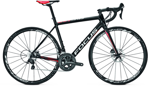 Focus Cayo Disc Ultegra Color: Black/Red