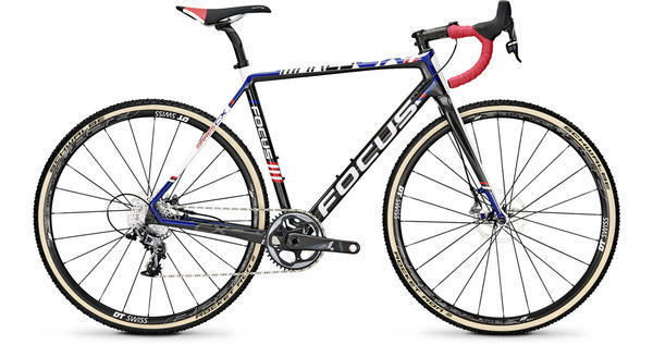 Focus Mares CX Disc Force 1 Color: Black/Blue/Red/White