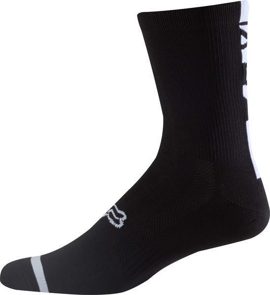 "Fox Racing 8"" Trail Sock Color: Black"