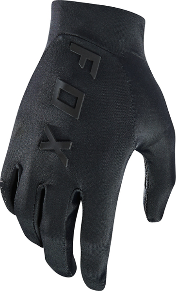 Fox Racing Ascent Gloves Color: Black/Black