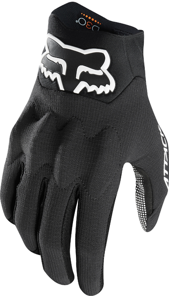 Fox Racing Attack Gloves Color: Black