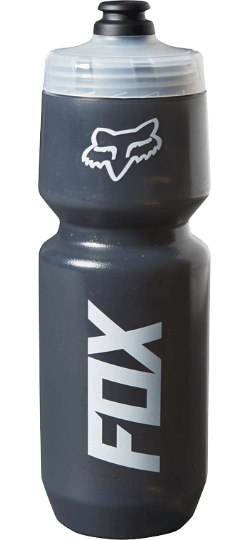 Fox Racing Core 26-ounce Water Bottle Color: Grey