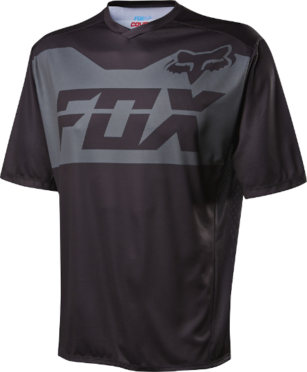 Fox Racing Covert Short Sleeve Jersey Color: Black
