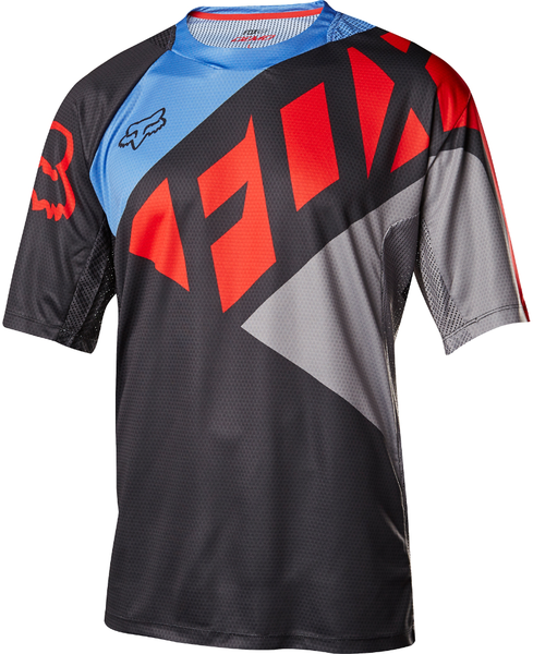Fox Racing Demo Seca Jersey Color: Black/Gray/Red